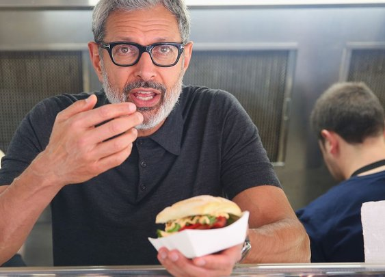 Jeff Goldblum recently gave away sausages in Australia