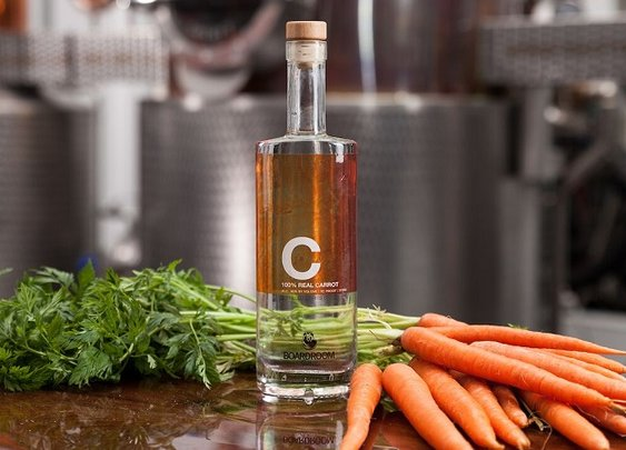 Liquor Made from Carrots