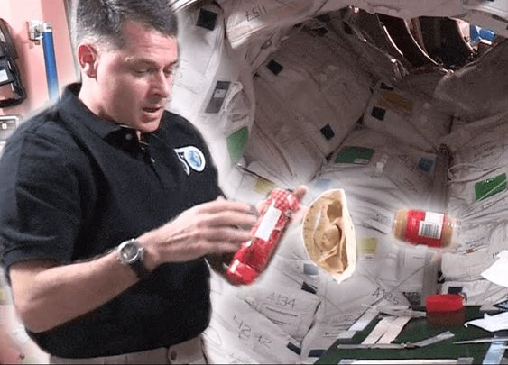 How To Make a Peanut Butter and Jelly in Space