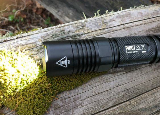 Nitecore P10GT - super bright dual tail switch EDC flashlight - Final30.com