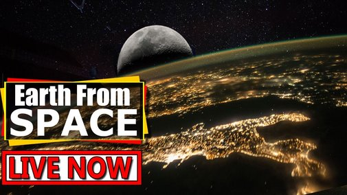 Earth From Space LIVE Feed : ISS live stream video of Earth