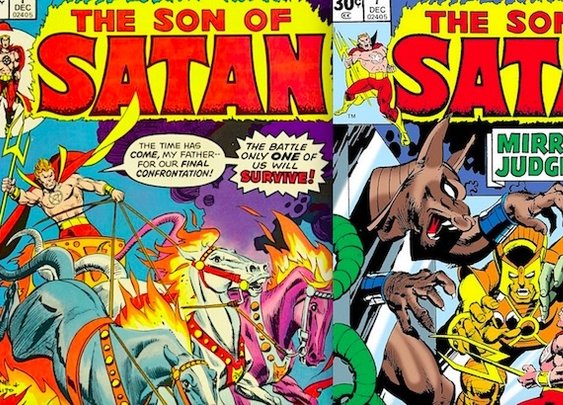 The Son of Satan: That time Marvel Comics got into the Antichrist | Dangerous Minds