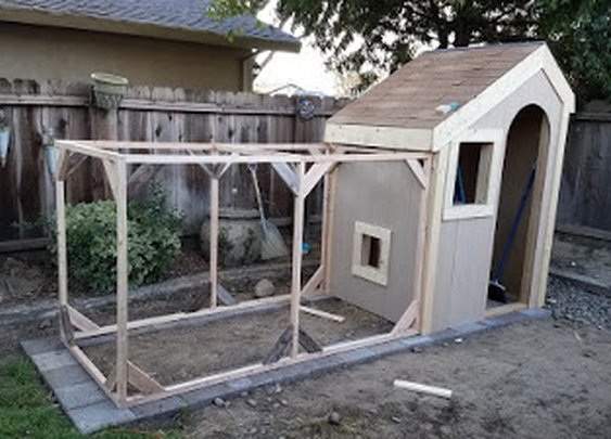 My crazy chicken coop build