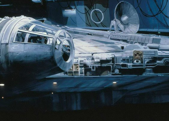 How the Original Star Wars Trilogy Used Matte Paintings