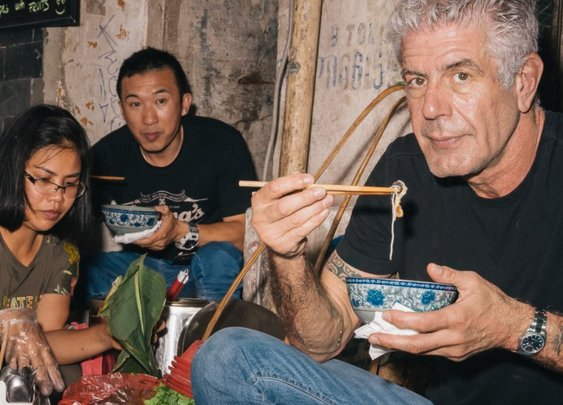 Anthony Bourdain's Moveable Feast - The New Yorker