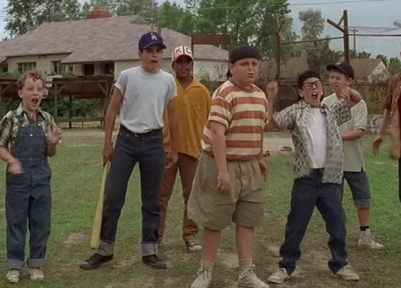 The Sandlot director has a new baseball movie ready to go