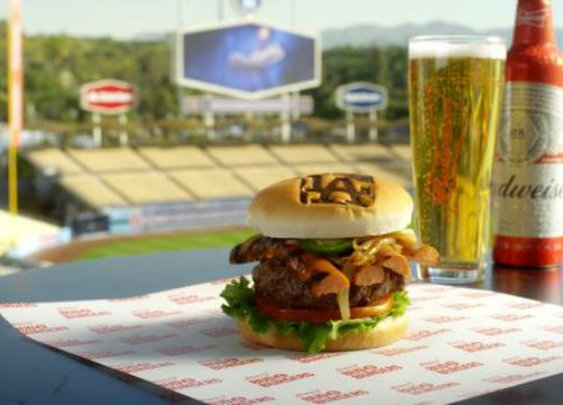 A Layer-by-Layer Breakdown of the New Official Burger of the Los Angeles Dodgers