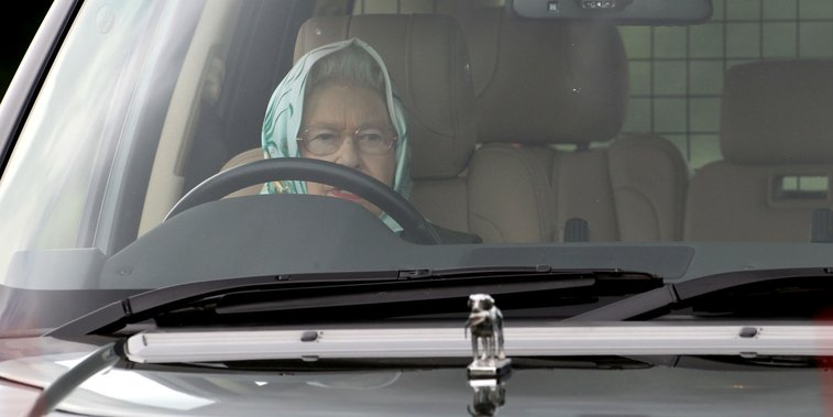 You Better Believe the Queen Loves to Drive