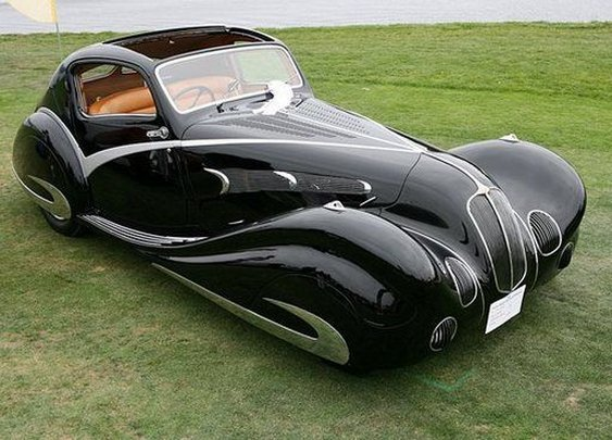 Behold- the most gorgeous cars of the Art Deco era...