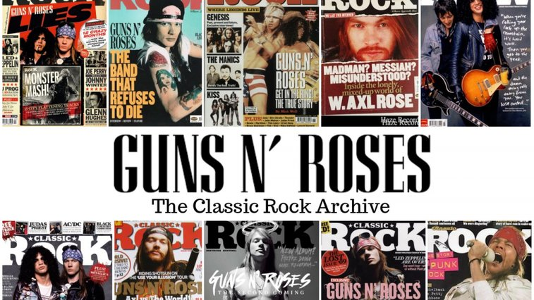 What the Unstoppable Rise of Guns N' Roses Looked Like From The Inside… - Classic Rock