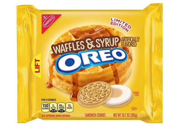 Waffle And Syrup Oreos Are An Excuse To Eat Cookies For Breakfast