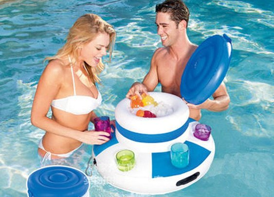 New Inflatable Ice Bucket – Adult Swim Time