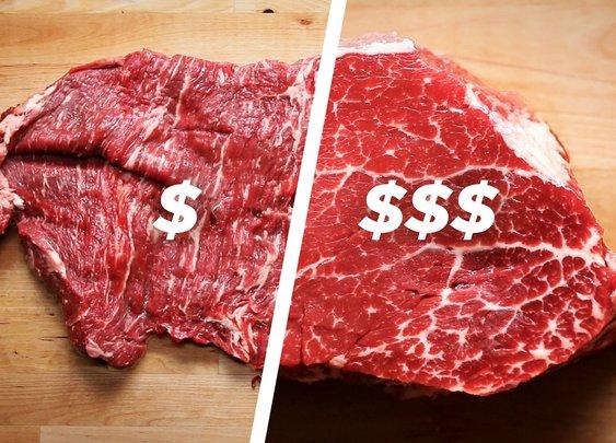 How To Cook A Cheap Steak Vs. An Expensive Steak