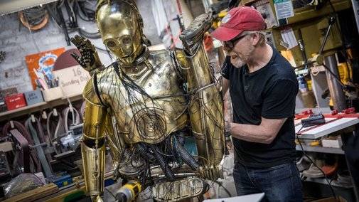 Adam Savage's One Day Builds: Chewbacca and C-3PO