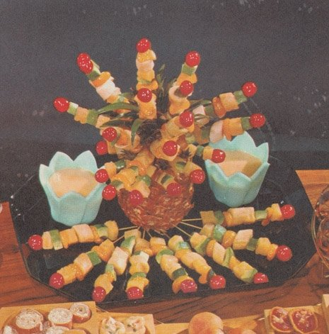 70s Dinner Party recalls the glory days when cookbooks were fucking horrorshows | Dangerous Minds