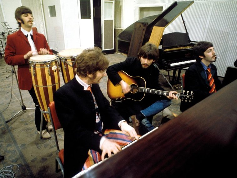 Hear The Beatles' First Take Of 'Lucy In The Sky With Diamonds'