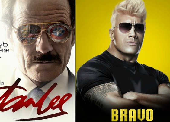 Fake movie posters we wish were real (including Bryan Cranston in a Stan Lee movie) | GamesRadar+