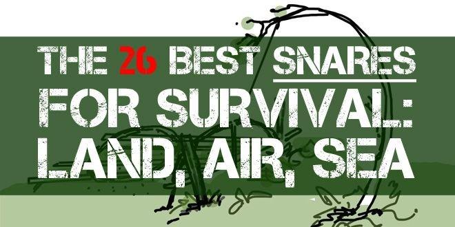 The 26 Best Snares for Survival: Land, Air, Sea | Survival Sullivan
