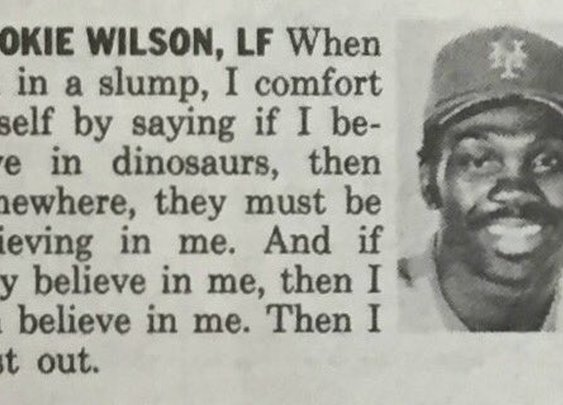 Mookie Wilson tips for getting out of a hitting slump.