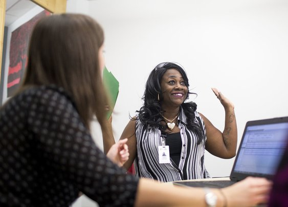 At 43, Goodwill Helped Her Get A High School Diploma