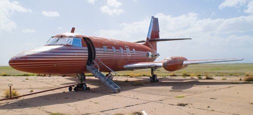 Take a Look Inside Elvis Presley's Untouched Private Jet
