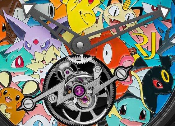 RJ-Romain Jerome Tourbillon Pokémon