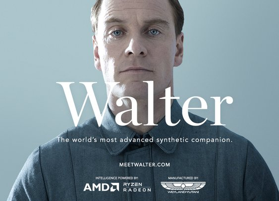 Meet Walter Alien Covenant