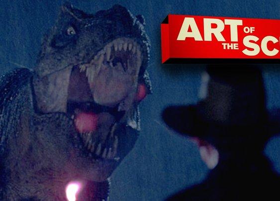 Jurassic Park's T-Rex Paddock Attack