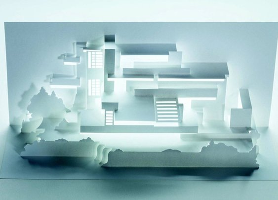 Frank Lloyd Wright's most famous buildings get paper model treatment in new book