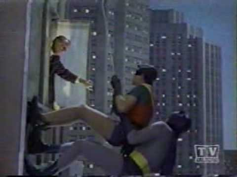 1966 The Complete Batman Guest star window cameos (14) on the batclimb - YouTube
