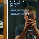 Man Creates DIY Magic Mirror That Displays Helpful Information
