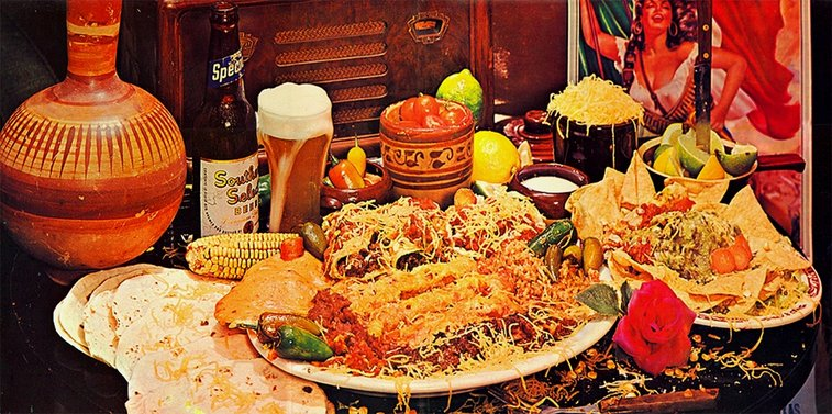 ZZ Top fan recreates the 'Tres Hombres' gatefold meal and then eats it | Dangerous Minds