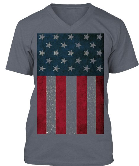 4th Of July American Flag T-Shirt from Sweat is Victory   Teespring