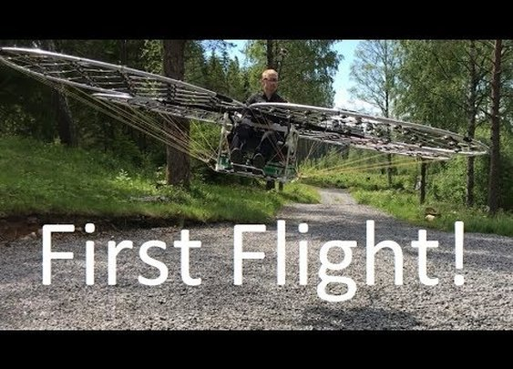 Test Flight of a Homemade Multi-Roter Copter