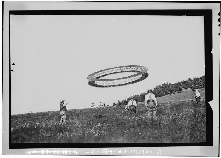 Alexander Graham Bell's Tetrahedral Kites