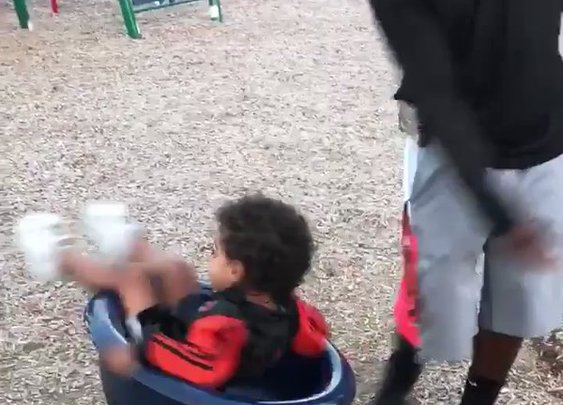 Dizzy Kid Forgets How to Walk