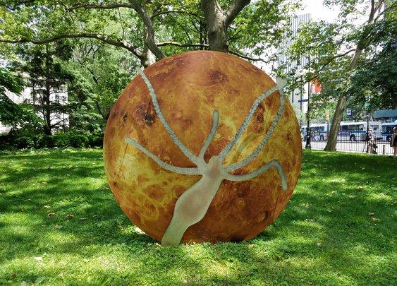 Katja Novitskova Just Unleashed an Alien Invasion on Lower Manhattan