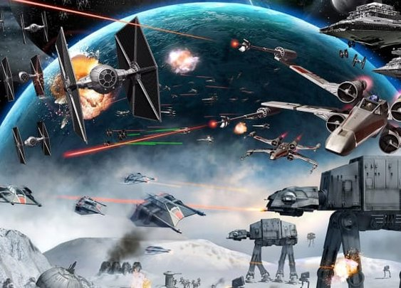 Coolest 'Star Wars' Spaceships | OMNI
