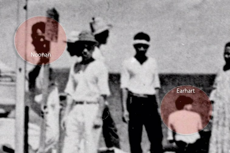 Amelia Earhart May Have Survived Crash-Landing, Newly Discovered Photo Suggests - NBC News