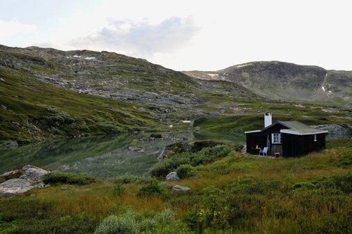 Summertime Cabin in Finies, Norway