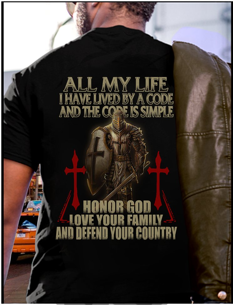 Honor God, Love Your Family & Defend... - Lived by a code: Honor God, Love Your Family and Defend Your country | Facebook