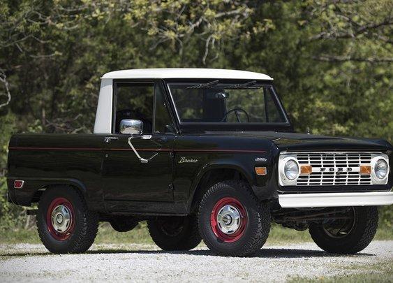 1969 Ford Bronco Half Cab