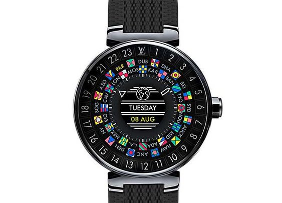 Louis Vuitton Introduces Its First Smartwatch