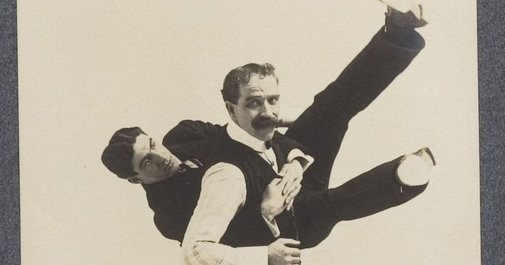 An 1895 photo album offers a gentleman's guide to self-defense moves
