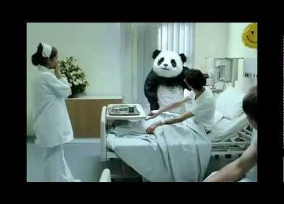 Panda Cheese Commercials