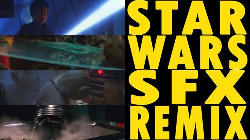 Star Wars Sound Effects Remix - YouTube
