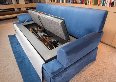 Couch Bunker Safe and Hidden Safe Furniture