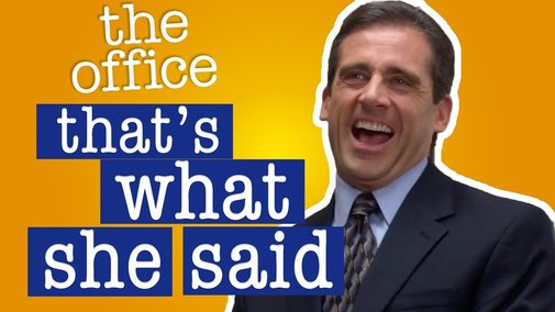 Every That's What She Said Ever From The Office