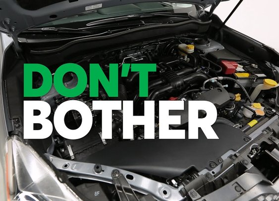Don't Bother Following These Car Maintenance Myths