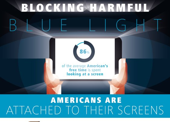 Blue Light and Screen Time | Protect Your Eyes, Infographic